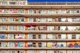 Cala Morlanda, S'Illot, Herzliche Grüße vom 8. Fenster, 6. Reihe,  grünes Handtuch. Hier sind wir!