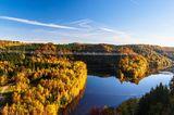 Rappbodetal, Harz: Eine der längsten Hängebrücken