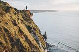 Der Küstenabschnitt