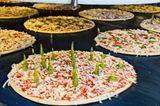 Pizza Produktion