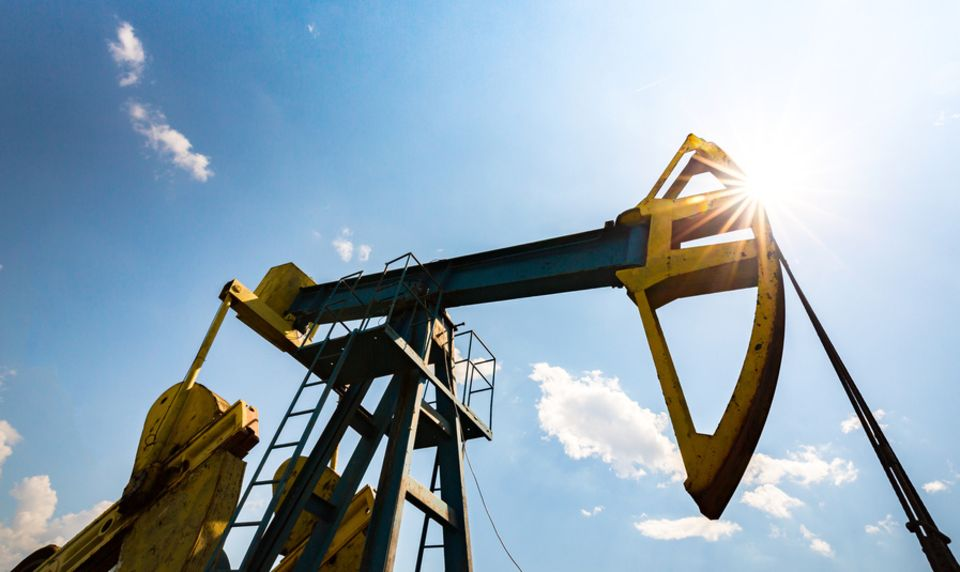 Öl und Gas Bohrloch