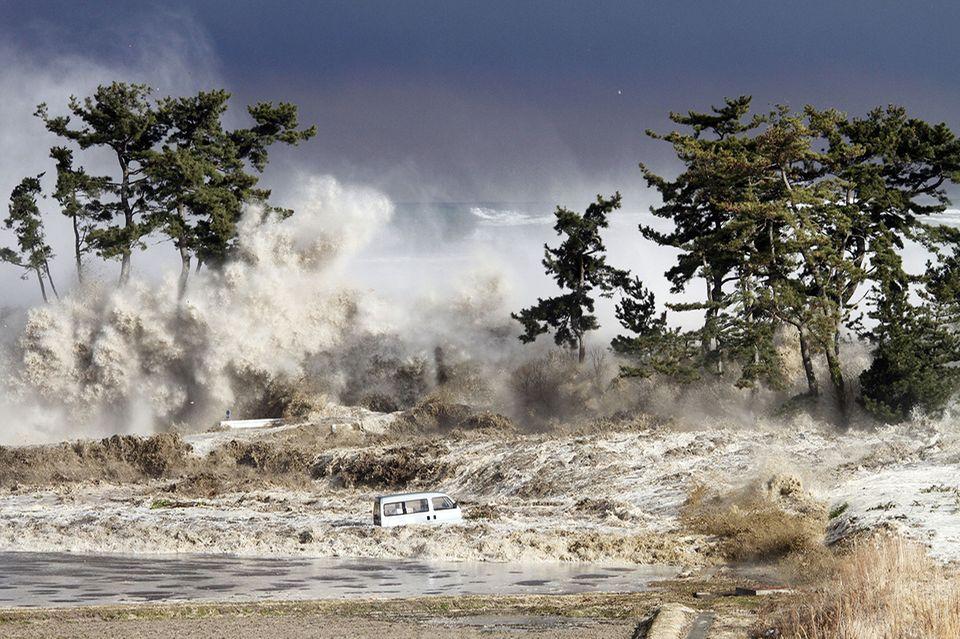 Tsunami in Fukushima