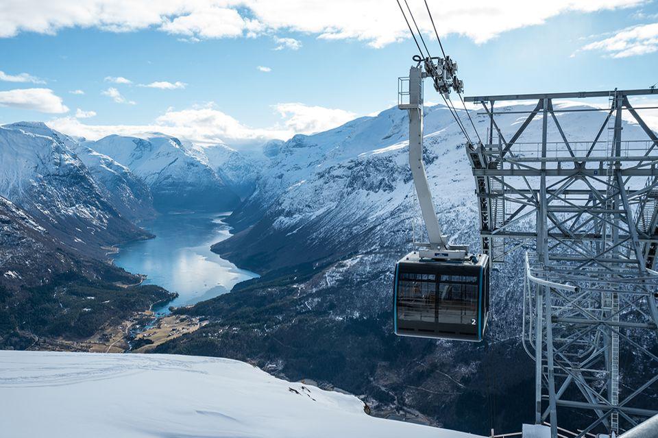 Steiler Lift Fjordnorwegen