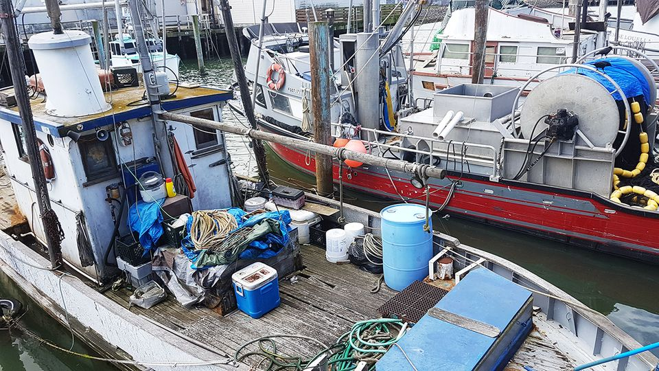 Pier 45 in Fischerman's Wharf