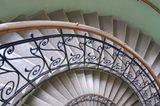 Treppen steigen