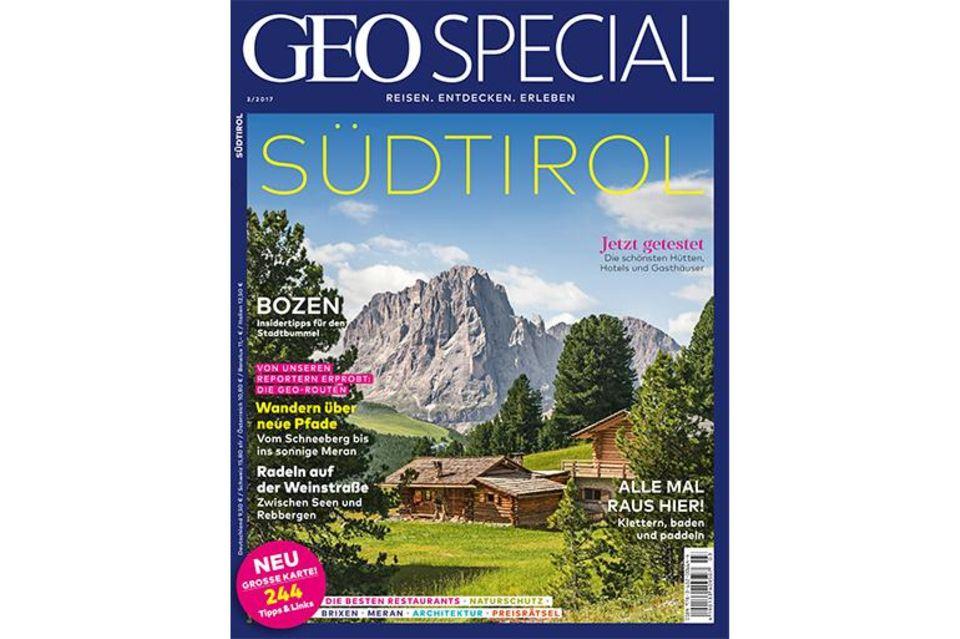 GEO SPECIAL Südtirol Cover