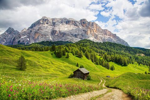 Südtirol Wandern Rosengarten