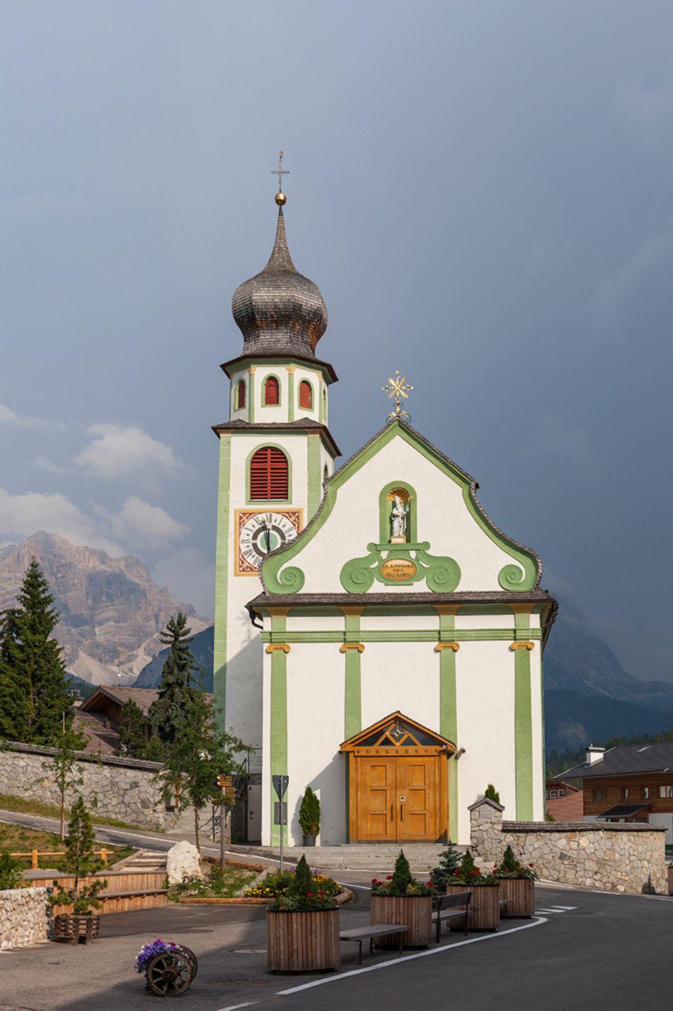 Südtirol Wandern Kassian