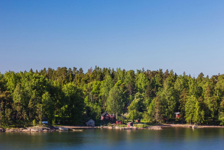 Finnland Küste Schärenlandschaft