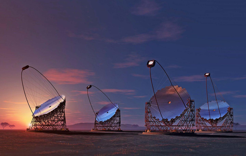 Astroinstrumente Galaxie Forschung