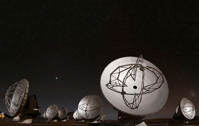 Reflektoren für Radiowellen Atacama Large Millimeter/submillimeter Array
