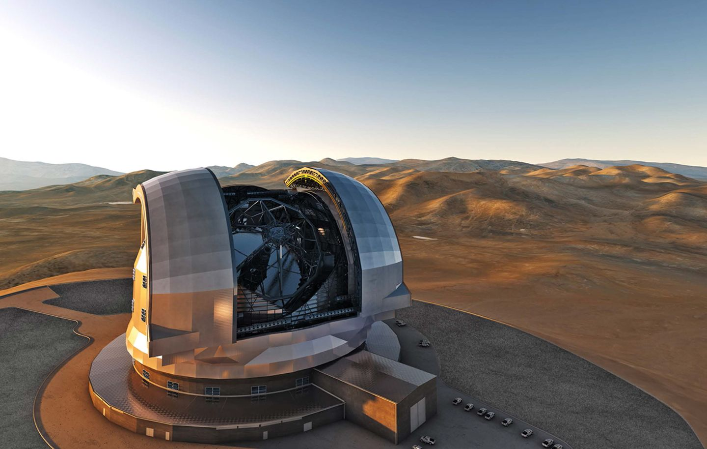 Astroinstrumente European Extremely Large Telescope