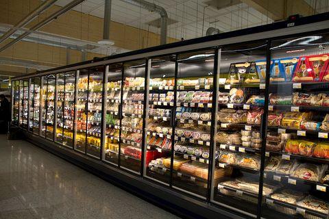 Energiesparender Supermarkt in Finnland