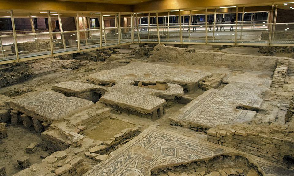 Herculaneum Ausgrabungen