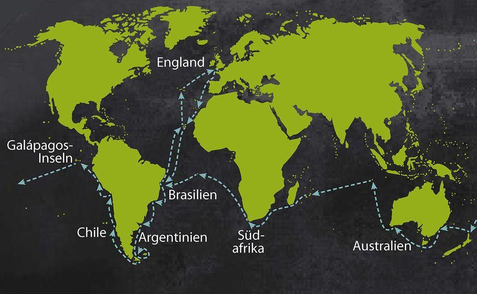 Darwins Weltreise