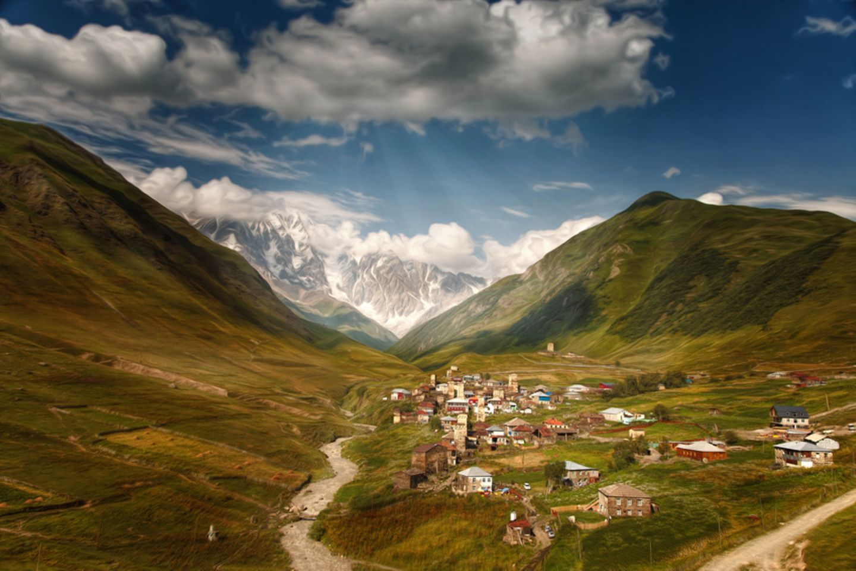 Georgien, Dorfgemeinschaft Uschguli