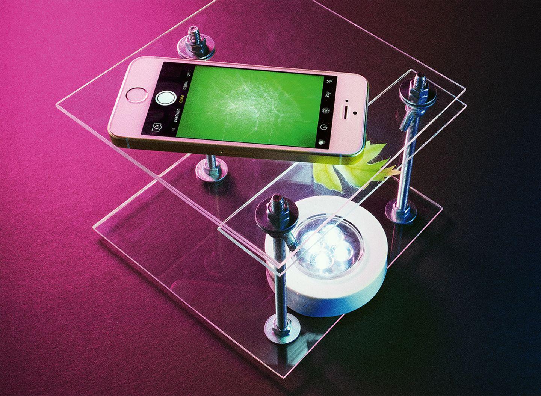 Smartphone Mirkoskop