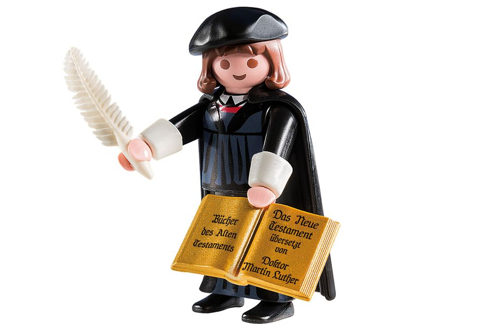 Luther Playmobilfigur