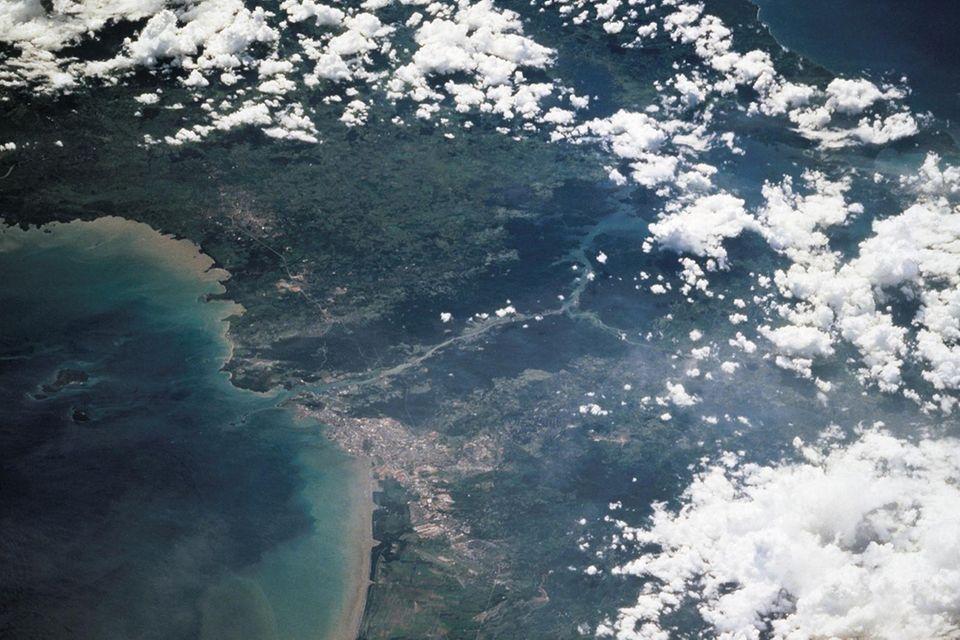 Satellitenfoto der NASA