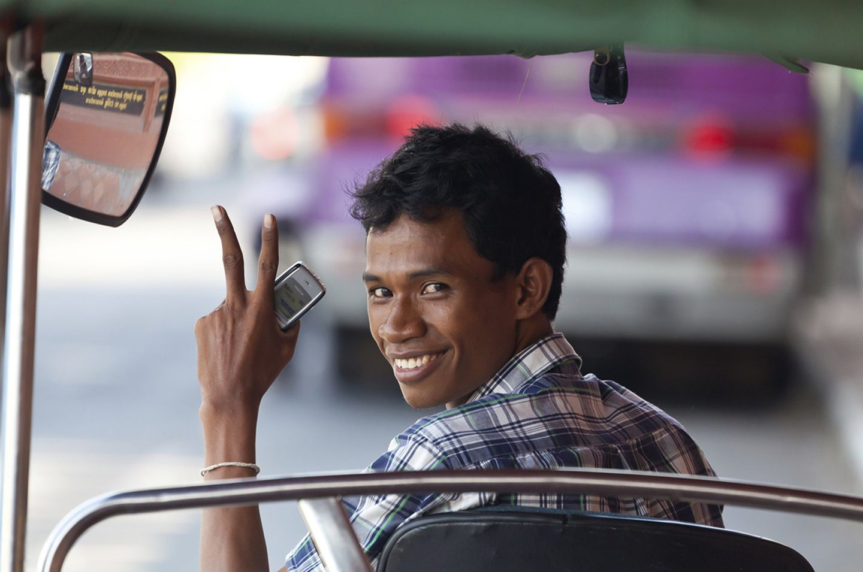 Taxifahrer, Phnom Penh