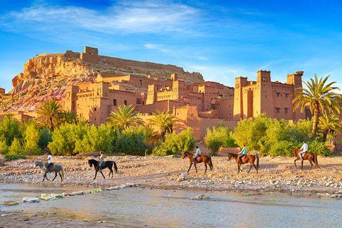 Ait-Benhaddou, Marokko