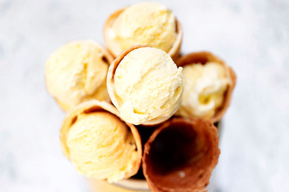 Maiskolben-Eis