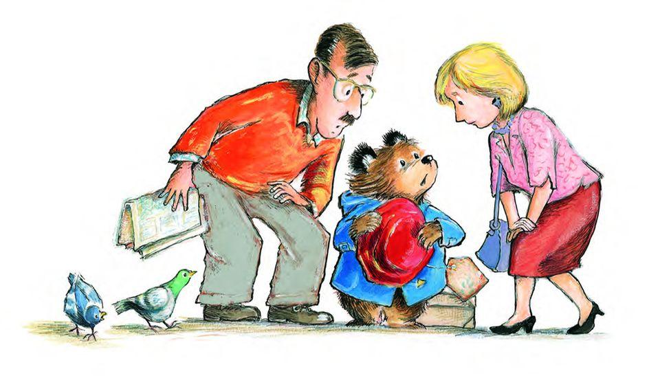 Paddington Bär mit Familie Brown