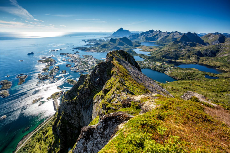 Norwegen, Nordkap und Kreuzfahrt zu den Lofoten
