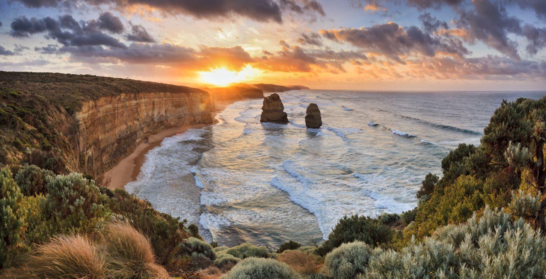 Australien, Great Ocean Road und Great Ocean Walk