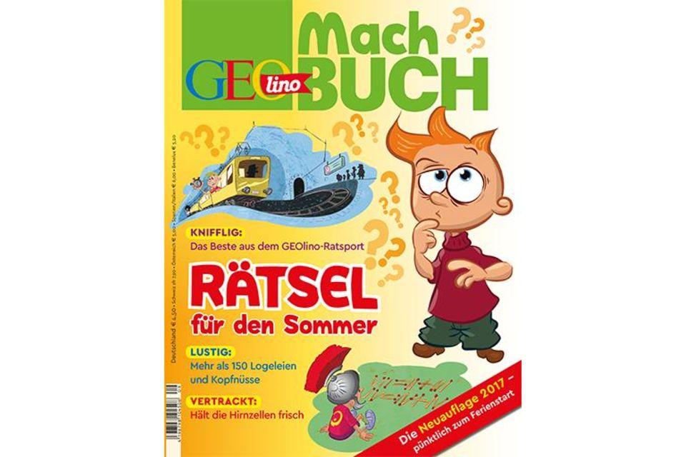 GEOlino Machbuch - Rätsel für den Sommer 2017