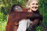 Dr. Signe Preuschoft in Borneo