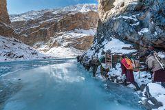 Chadar Trek, Indien