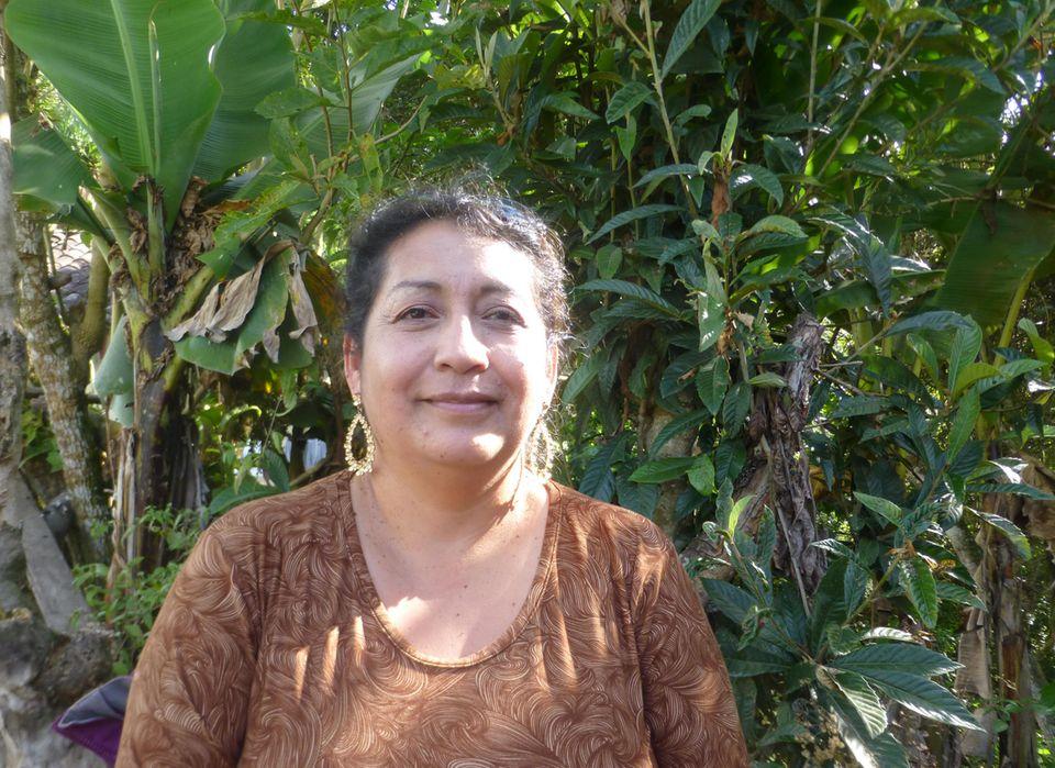 Ecuador: Silvia Quilumbango, Präsidentin von DECOIN
