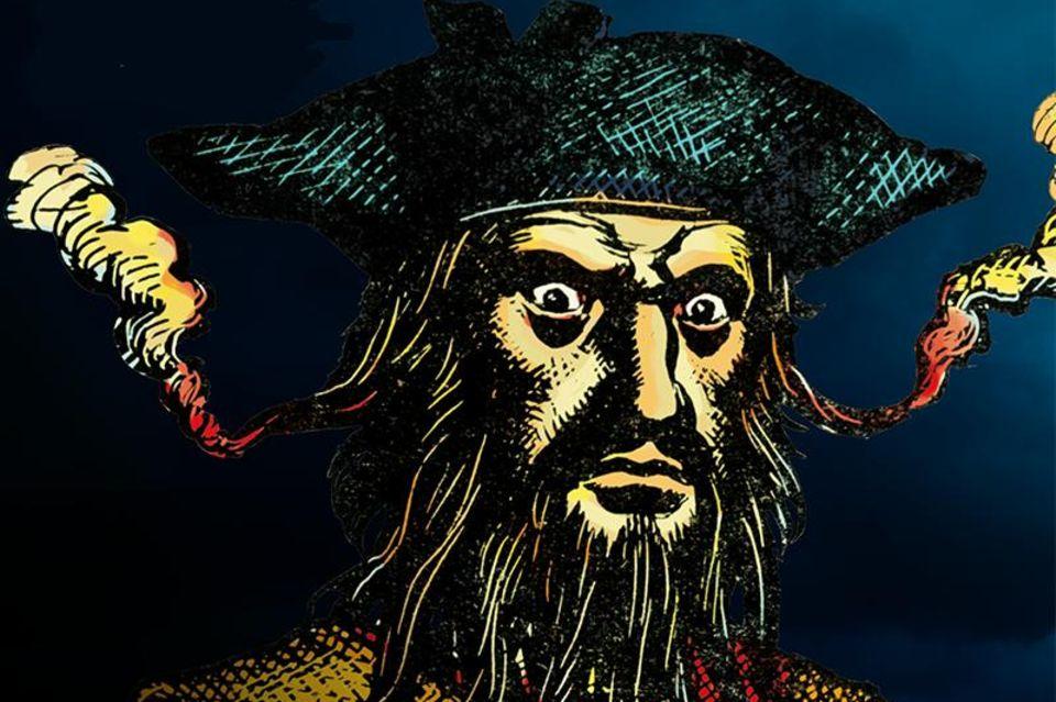 Blackbeard, der Pirat