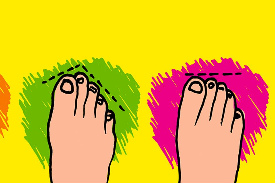 Fußtypen