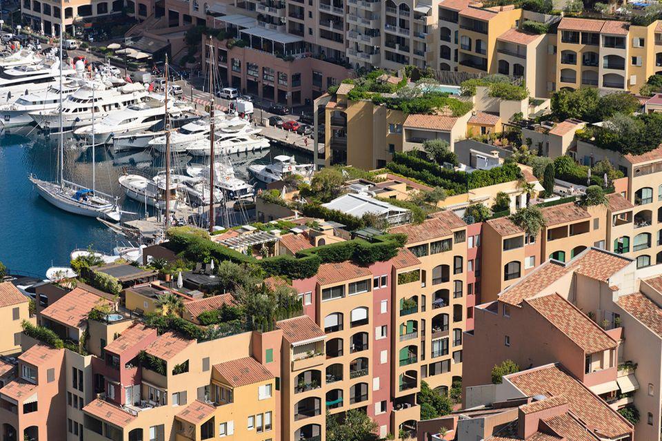 Monaco, Dachgärten
