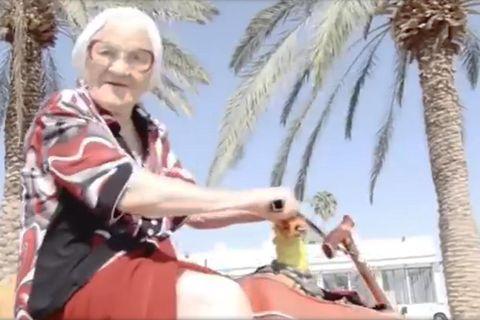 Abenteuerlust am Lebensabend: Baba Lena in Israel.