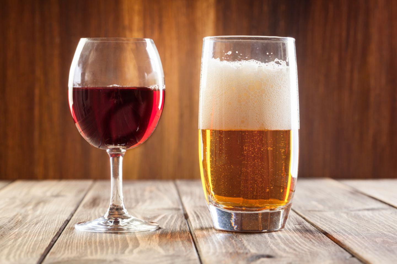 Bier, Wein