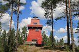 Norwegen, Feuerwachturm Haukenestårnet