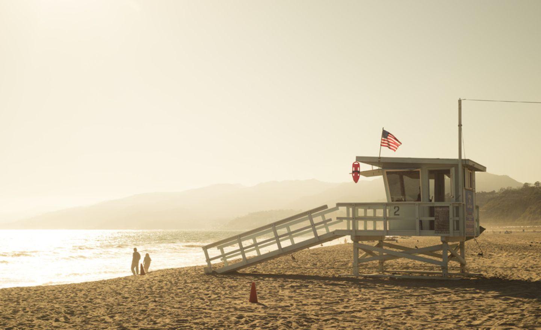 Santa Monica State Beach, Kalifornien, USA