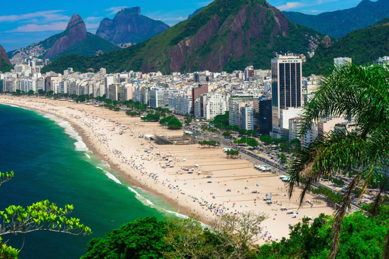 Copacabana, Rio de Janeiro, Brasilien
