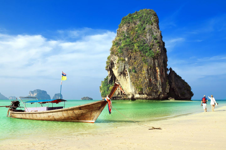 Railay Beach, Provinz Krabi, Thailand