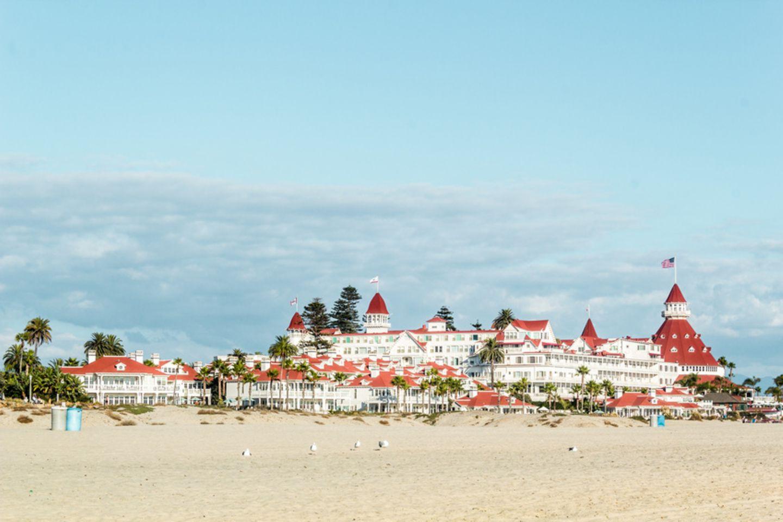 Coronado Beach, Kalifornien, USA