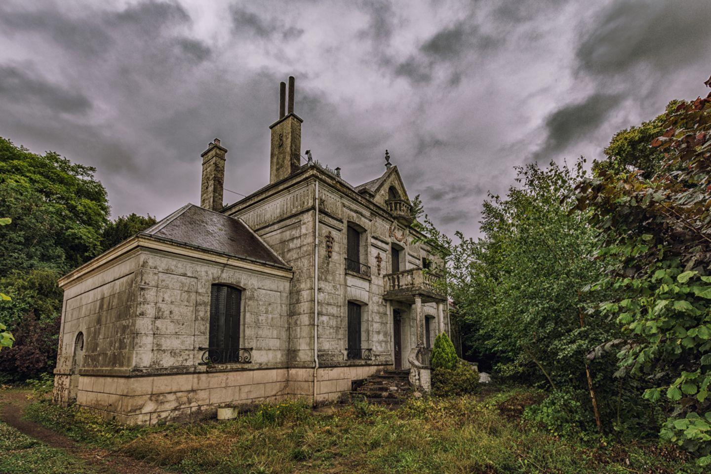 Verlassenes Haus Frankreich