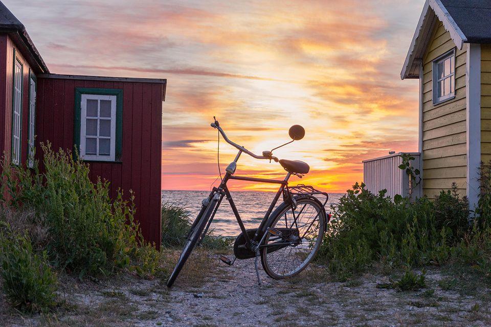 Fahrrad in Ärösköping
