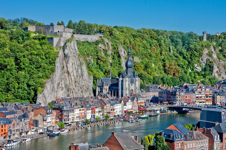 Dinant in Belgien