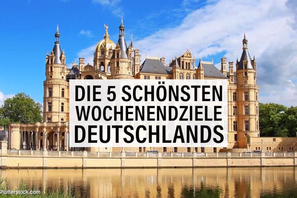 Wochenendziele Deutschland