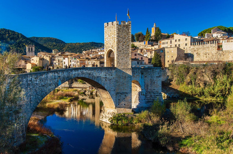 Besalú in Spanien