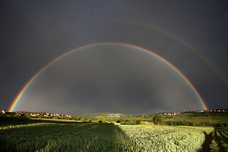 Doppelregenbogen