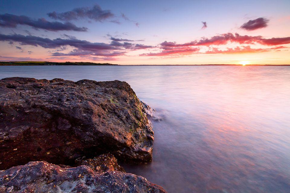 Der Limfjord in Dänemark